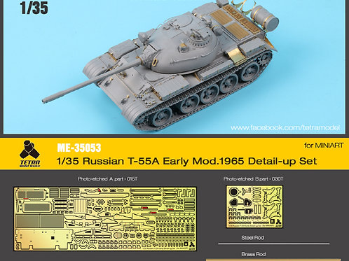 1/35 T-55A Earl, Mod. 1965, detail up PE Set (for MINIART)