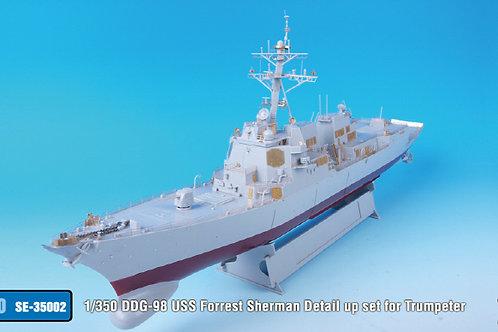 1/350 DDG-98 USS Forrest Sherman Detail up set for Trumpeter*