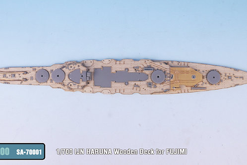 1/700 IJN HARUNA Wooden Deck (for FUJIMI)