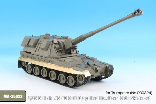 1/35 British AS-90 Self-Propelled Howitzer Side Skirts set for Trumpeter*