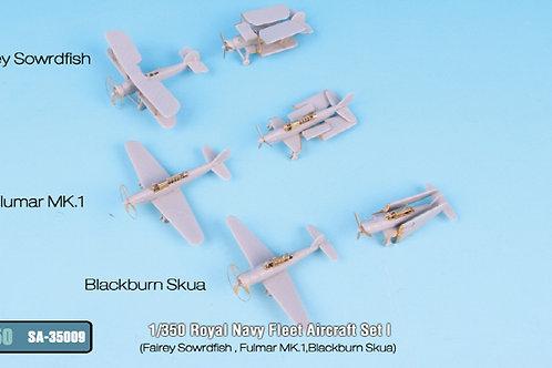 1/350 Fleet Air Arm Aircraft Set1, PE Upgrade