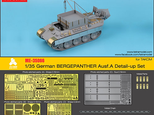 1/35 Bergpanther Ausf.A Detail Up Set w/schurzen (for TAKOM)