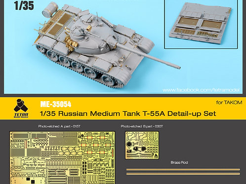 1/35 T-55A Detail-up Set for Takom