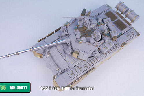 PE Upgrade for the 1/35 T-90A, T-90 from Trumpeter