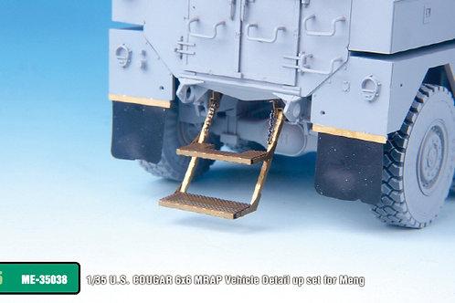 1/35 U.S. COUGAR 6x6 MRAP Vehicle Detail up set for Meng