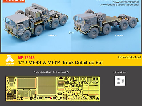 1/72 M1001 & M1014 Truck Detail-up Set for ModelCollect