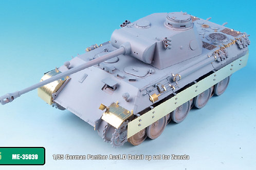 1/35 Panther Ausf.D Detail Up PE (for Zvezda)