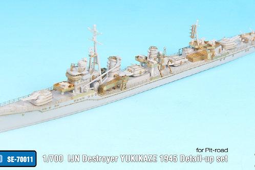 1/700 IJN Destroyer Yukikaze 1945 Detail up set For Pit-road