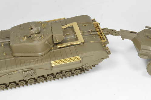 1/48 Churchill MkVII/ Crocodile PE