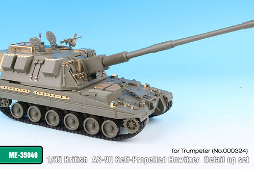 1/35 British AS-90 Self-Propelled Howitzer Detail up set for Trumpeter *
