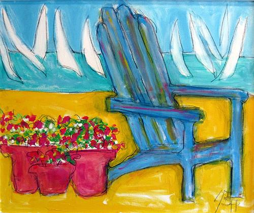 About Lynn Pitzer Sites, Local Virginia Beach Artist