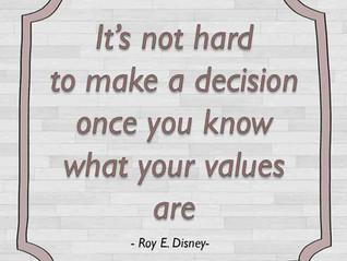 על בשורה רעה והחלטה חשובה