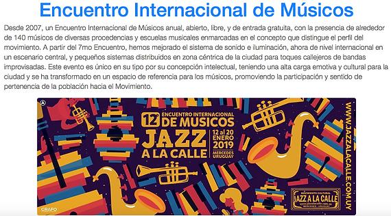 Jazz a la Calle - Captura de tela .png