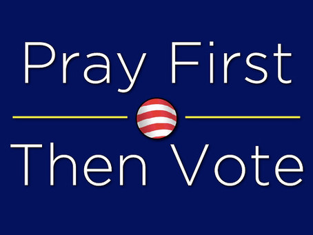 The Believer's Vote (How do I vote as a Christian?) Pt. 1