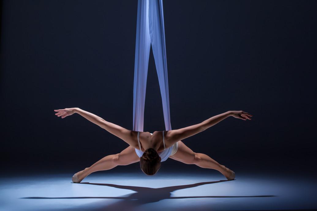 danse en tissu