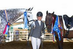 Sarah Lockman Dressage champions