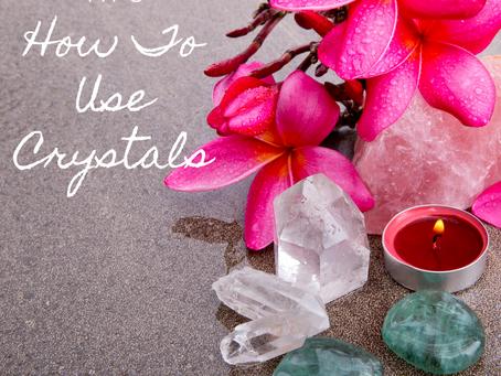 Meditation Tips: Utilize Healing Crystals