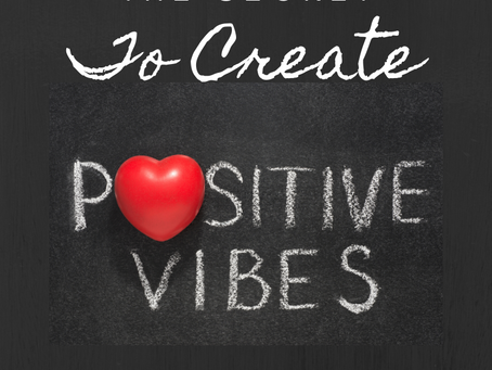 The Secret to Generating Positive Energy
