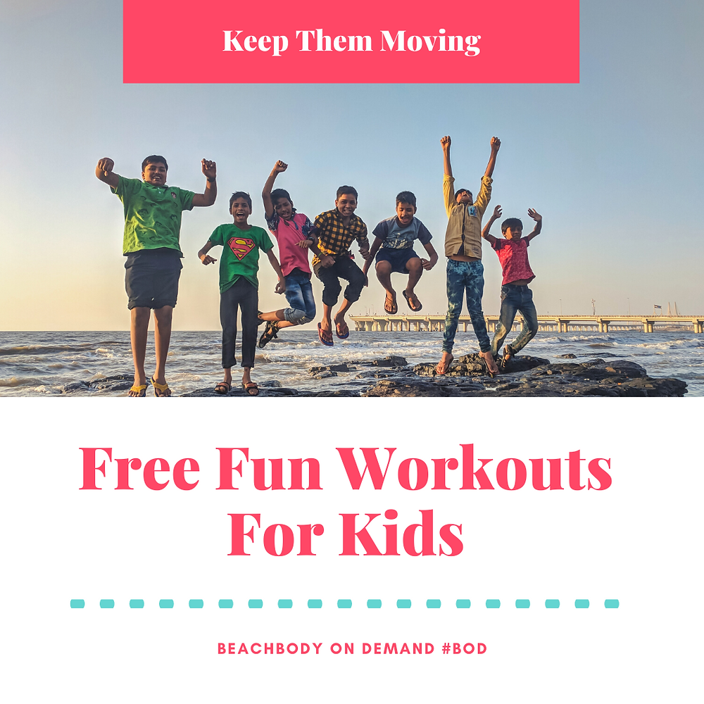 FREE Kids Workouts