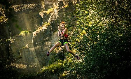 Free jump Ardennen