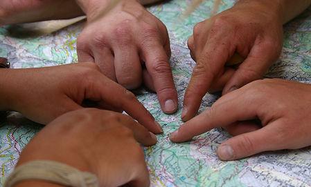 Kaart en Kompas tocht Ardennn
