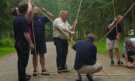 bamboe samenwerking