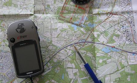 GPS Navigatietocht