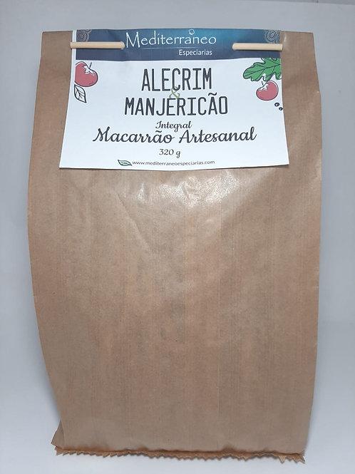 Macarrão Artesanal com Alecrim e Manjericão Integral
