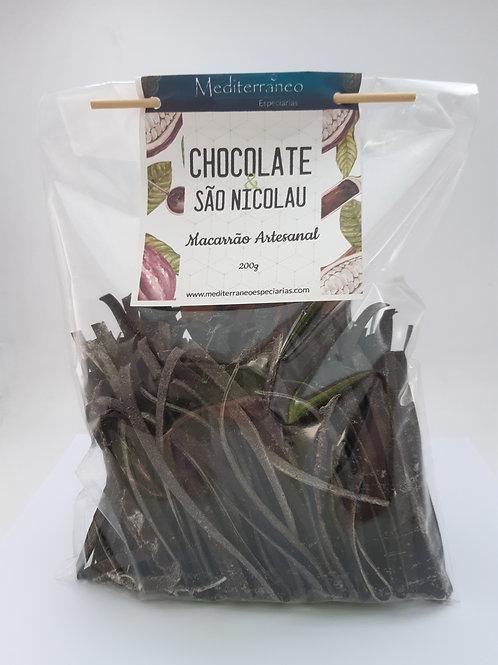 Macarrão Artesanal com Chocolate e São Nicolau