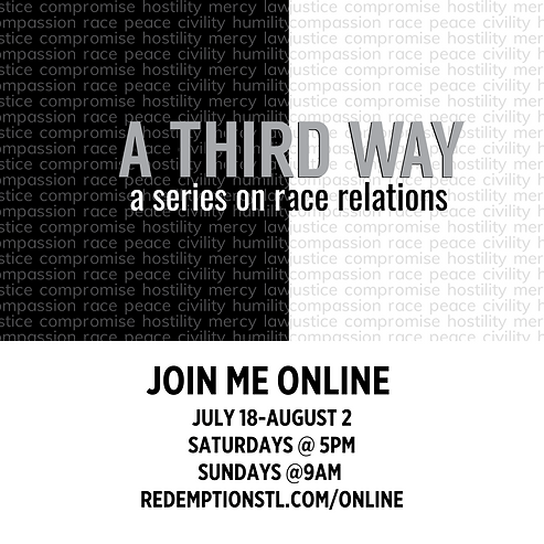 A Third Way: a series on race relations
