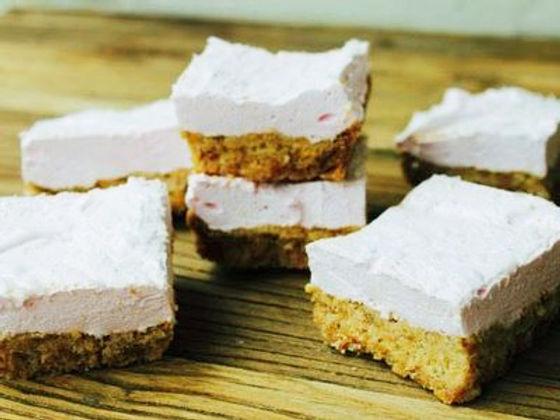 Fluffy Marshmallow Slice Recipe - Hapisoy