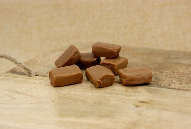 Chewy Cardamon Toffees