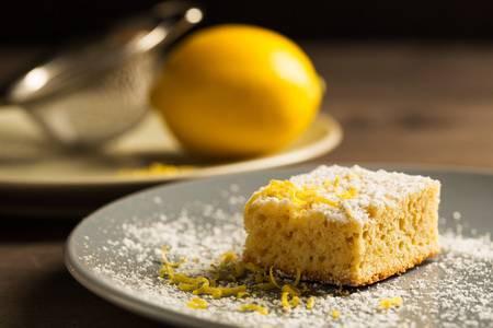 Lemon and Coconut Slice