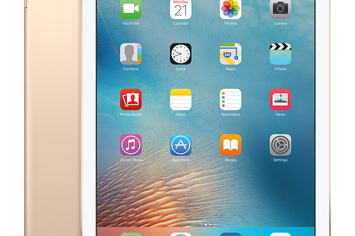 iPad Pro 9.7-inch (128GB, Wi-Fi + 4G LTE Cellular, Gold) MLQ52LL/A 2016 Model