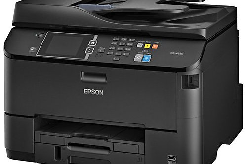 Epson WorkForce Pro WF-4630 Wireless Color All-in-One Inkjet Printer