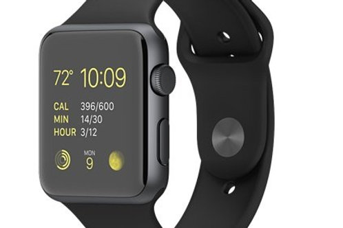 Apple Watch Sport 42mm Space Gray Case with Black Sport Band MJ3T2LL/A