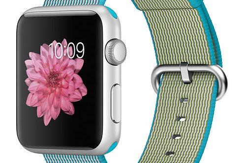 Apple Watch Sport 42mm Smartwatch (Scuba Blue Woven) MMFN2LL/A
