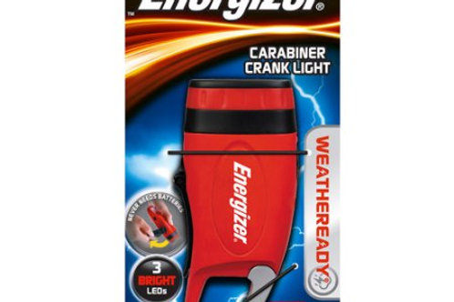 Energizer Weatheready Carabiner Crank Light