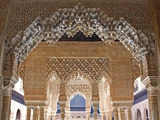 Técnica Plique-à-jour: Brincos Alhambra