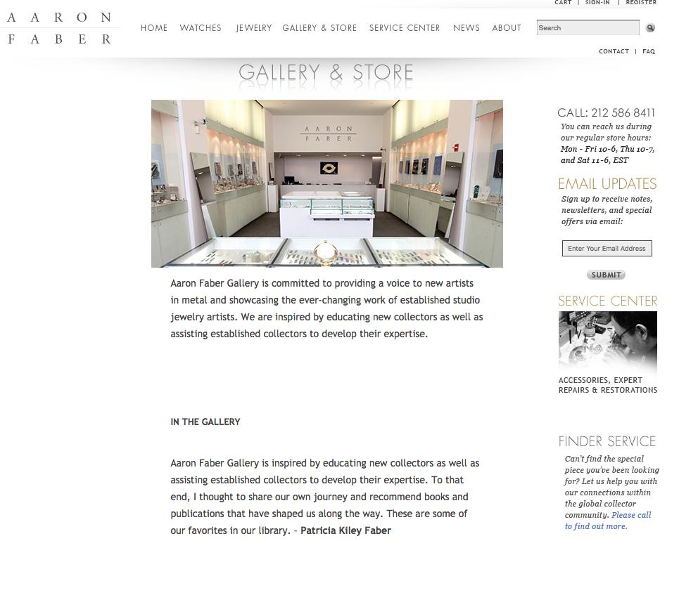 Aaron Faber Gallery