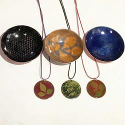 peças de cobre esmaltadas