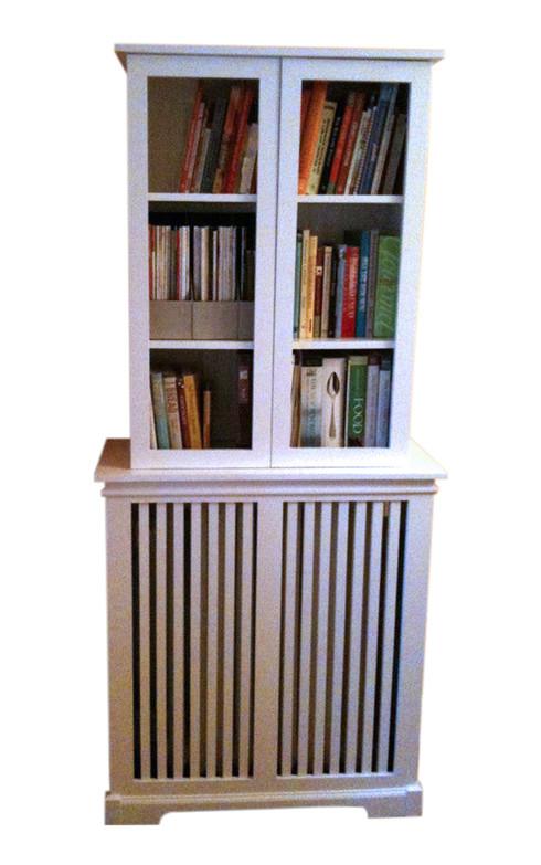 Radiator Cabinet & Bookcase