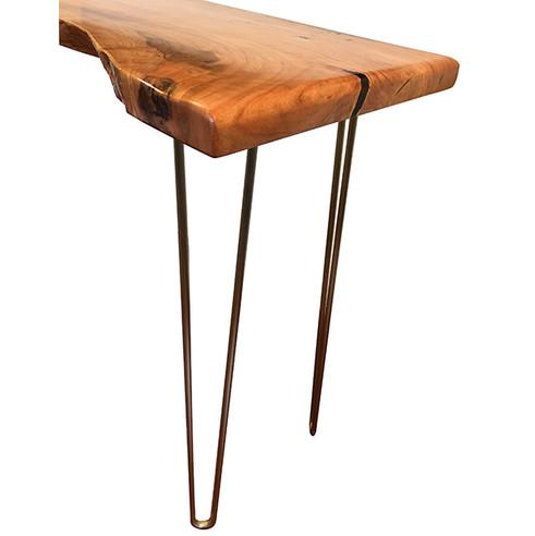Hairpin Leg Hall Table
