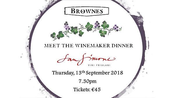 Meet the Winemaker - San Simone - Sep 20