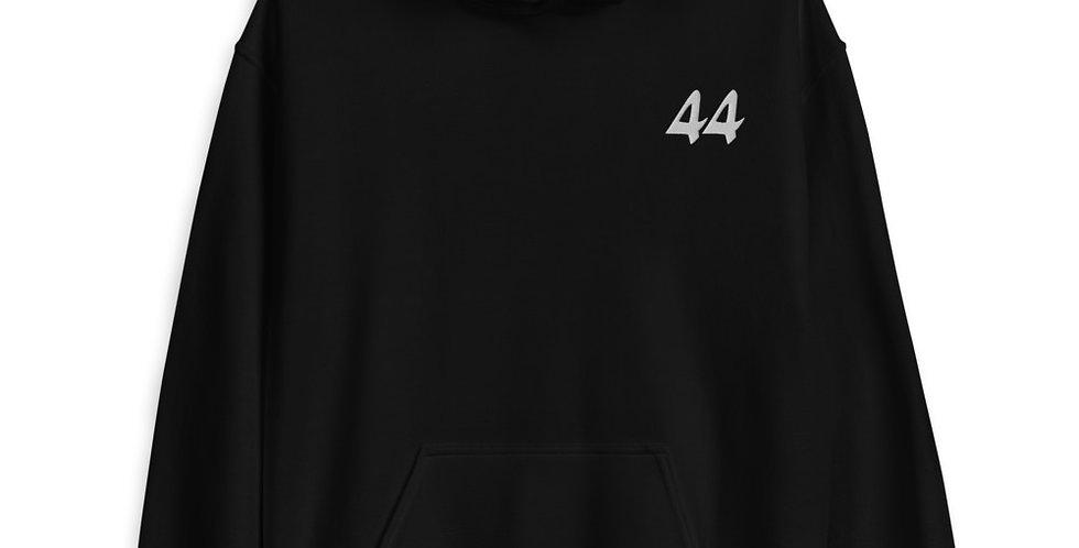 44 Hoodie in Black