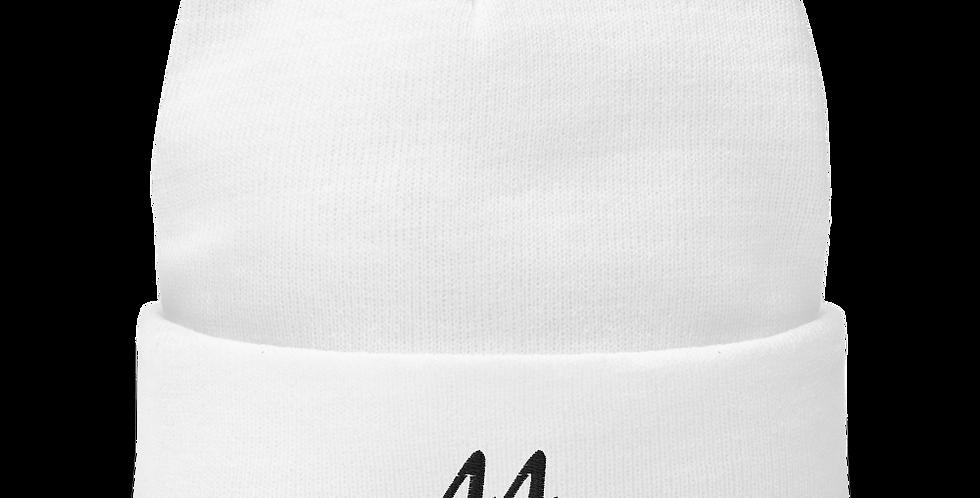 44 Beanie in White
