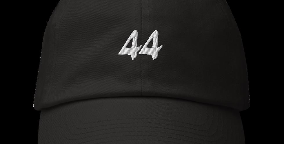 44 Cap in Black