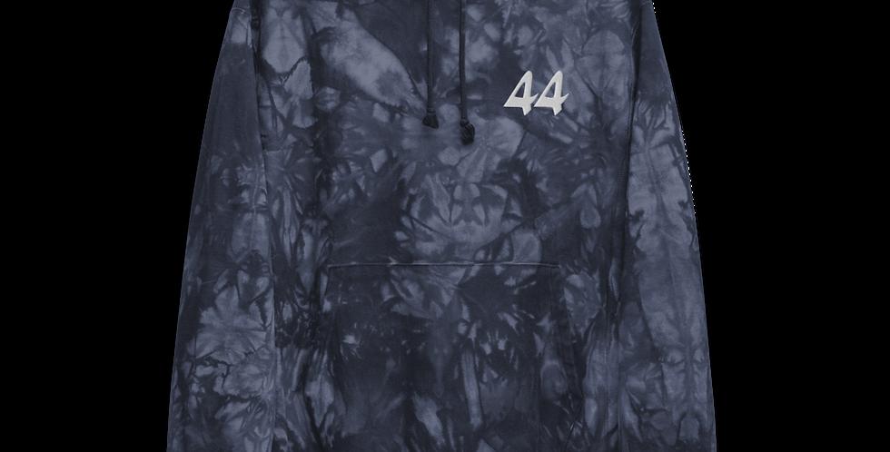 44 Tie Dye Hoodie in Blue