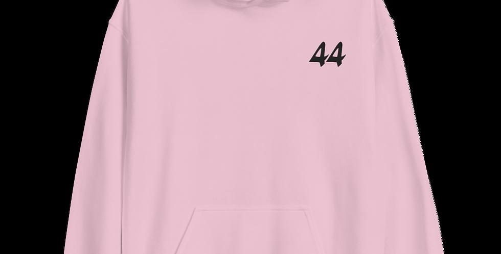 44 Hoodie in Pink