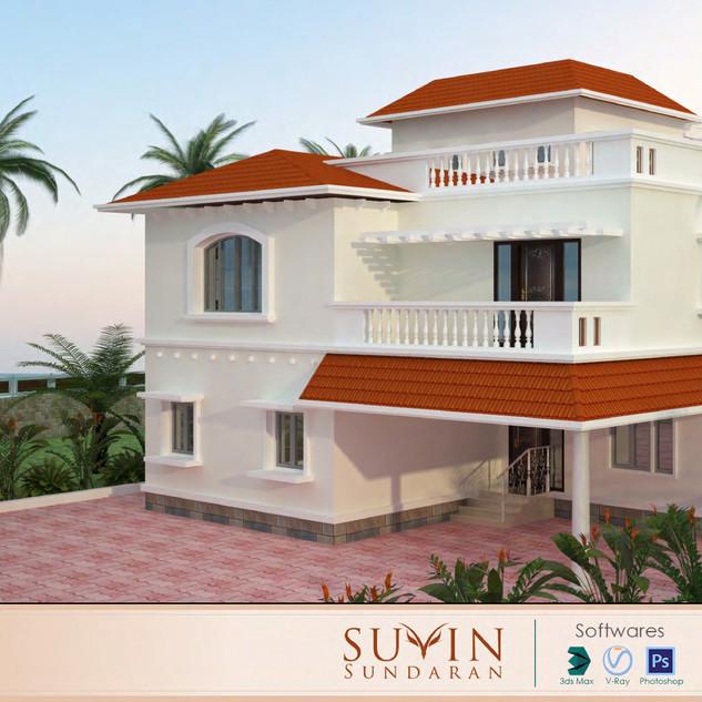 3ds max & vray work -Suvin Sundaran_page
